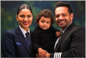 flying beast family photo with rasbhari taneja